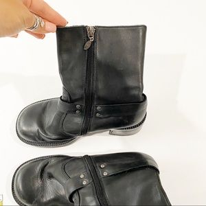 Harley-Davidson Shoes - Harley Davidson Women's Black Riding Heeled Boots